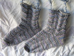 feather and fan socks 3