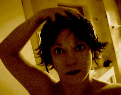 Friday...shower day.... ( Popotito ) Tags: portrait woman selfportrait art me water argentina beautiful look yellow sepia female photoshop self canon fun creativity shower lights photo mujer eyes agua buenosaires funny pretty photographer shadows arte artistic exploring yo cara grain creative happiness bano scout dia explore ojos hoy ducha friday autorretrato mirada creatividad rostro scouting fotografa divertido toda gracioso viernes femenina popotito imagesofself