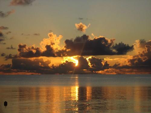Fakarava #63 coucher de soleil