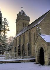 Mrtly Chpl (angus clyne) Tags: snow scotland angus perthshire tay hdr murthly clyne flikcr