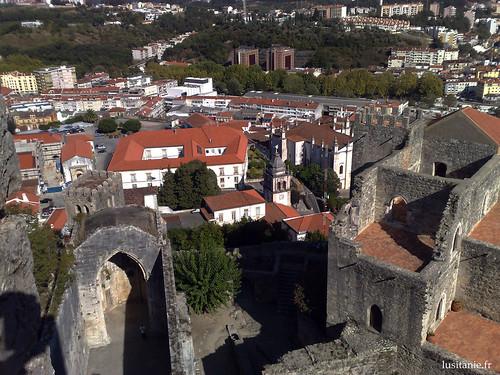 Cidade de Leiria, vista do Castelo