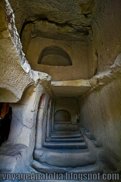 Cappadocia Rock Monastery by voyageAnatolia.blogspot.com