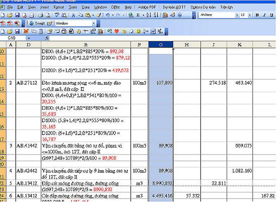 4725915306 9b1a894a19 b Một số lỗi khi sử dụng dự toán 97/2009 và cách khắc phục.
