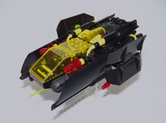 "LEGO - SPIII - Starfighter ""Child of Abyss"" (Slayerdread) Tags: classic fighter lego alien oldschool jumper blacktron spacepoliceiii"