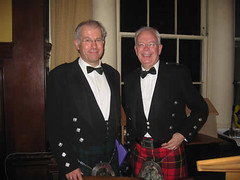 Professor Nigel Leask and Lord Wallace