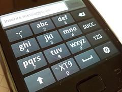 Samsung galaxy s tastiera