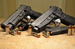 SIG Sauer P226 and P239 (tobin.t) Tags: gun pistol firearm sigsauer