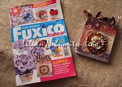 Mini Revista Fuxico (Lilian Nobumitsu Leão) Tags: magazine handmade crafts revista artesanato fuxico tutorial passoapasso apliquê pachtcolagem