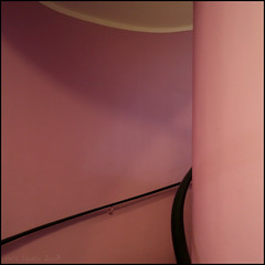 balustrade (herbstkind) Tags: pink abstract minimalism cafeglockenspiel