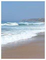 The ocean waves at Carrapateira (Romeodesign) Tags: ocean sea beach portugal waves carrapateira anawesomeshot aplusphoto wowiekazowie