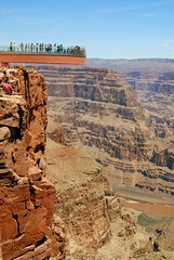 Grand Canyon Skywalk (Michael McDonough) Tags: arizona grandcanyon tourist hualapai skywalk glassbottom indianreservation 5photosaday michaelmcdonough grandcanyonskywalk