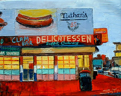 """Nathan's Coney Island • <a style=""""font-size:0.8em;"""" href=""""https://www.flickr.com/photos/78624443@N00/549717527/"""" target=""""_blank"""">View on Flickr</a>"""