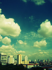 tatuap (alineioavasso) Tags: city blue cidade sky azul saopaulo cu nuvens tatuape silvoromero