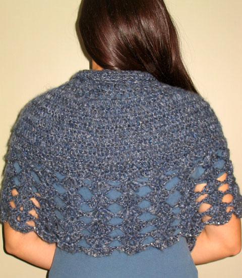 Free Crochet Capelet Patterns Crochet And Knitting Patterns