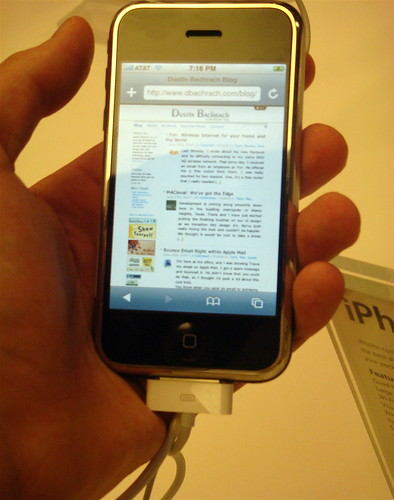 My Blog on the iPhone