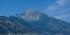 Mount Athos, Greece (Alexandru Pop) Tags: cruise blue sky mountain greece macedonia athos mountathos chalkidiki munte halkidiki cer albastru supershot sawyoufirst diamondclassphotographer flickrdiamond croaziera munteleathos heritagesite181