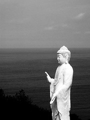 Buddha by the sea