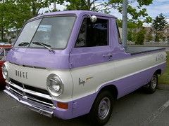 Lilac Dodge A100 (vancouverbyte) Tags: auto canada cars vancouver bc surrey 1967 dodge hemi chrysler unlimited 440 sixties a100 mopars