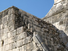 Steep steps (Jason-Morrison) Tags: trip vacation mexico ruins honeymoon steps yucatan chichenitza mayan chichnitz ballcourt templeofthejaguar