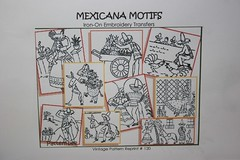 Superior Transfer Pattern Mexicana, Design No. 120 reprint