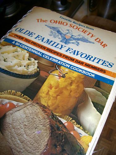 Vintage DAR cookbook