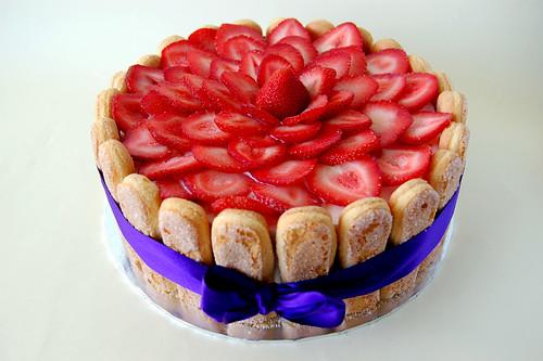 Fresh Wedding Cake Strawbarries Decorations, Wedding Cake Strawbarries Decorations