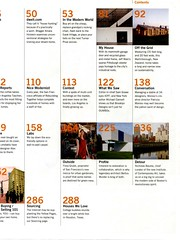 Table of Contents: Dwell (VoxMag) Tags: magazine example reference
