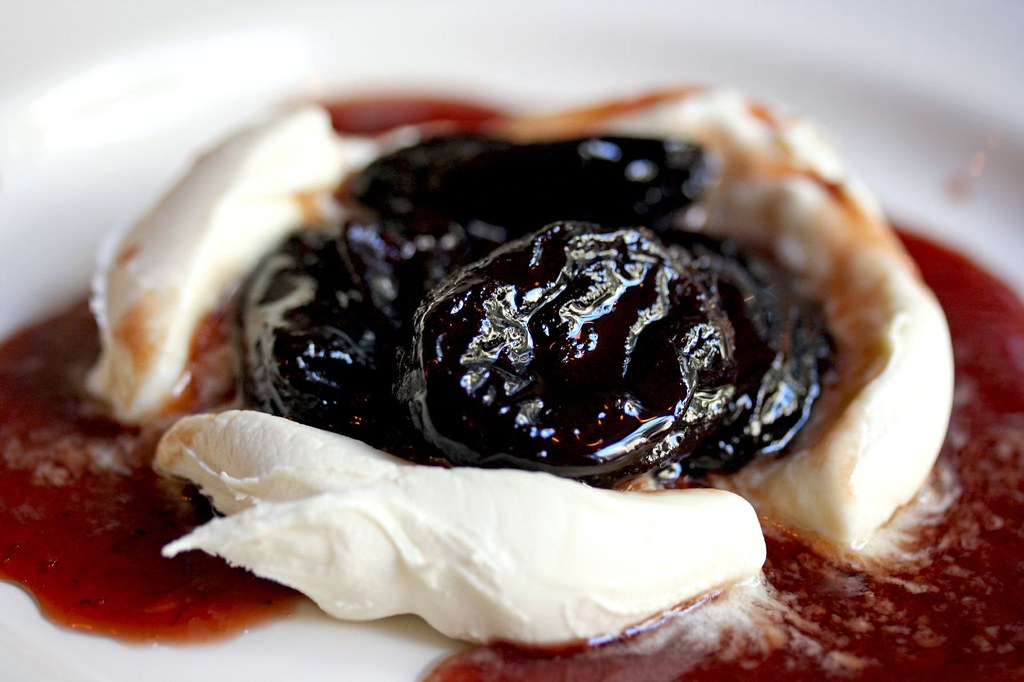 Red Wine Prunes - Close up