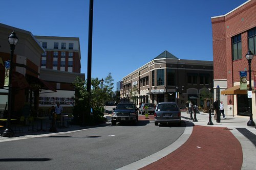 The new Bayshore Town Center offers shopping, dining, entertainment, and business office experience in a location that is more than 50 years old, but entirely recreated. New buildings have been combined with some of the existing Bayshore Mall infrastructure to create a acre