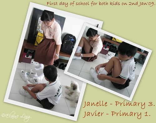 1st day of school - 2 Jan'09