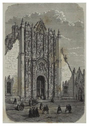 001-El sagrario de la catedral de Mexico-Les Anciennes Villes du nouveau monde-1885- Désiré Charnay
