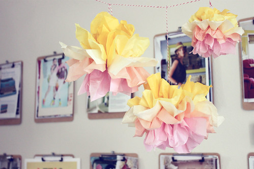 Summer Time Pom Poms