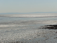 Weston-Super-Mare -  Shimmering   Sea - June 2010 (Lenton Sands) Tags: sea westonsupermare bristolchannel shimmeringsea
