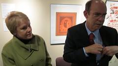 Susan McKenna & David Eisenhower