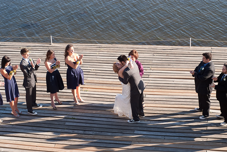 boathouse wedding