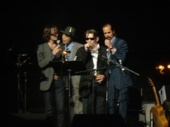 Jarvis Cocker, Nick Cave, Pete Doherty & Shane MacGowan (Big Marvin) Tags: london disney walt meltdown nickcave royalfestivalhall 2007 jarviscocker petedoherty shanemacgowan forestofnoreturn halwillner lastfm:event=229324