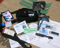 My 500th Flick post: what's really in my camera bag? With Flickr notes!