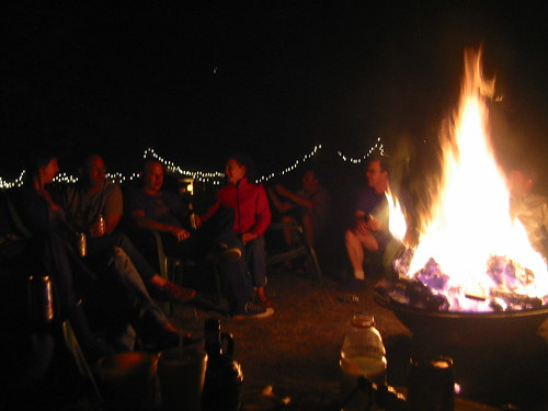 good times around the fire