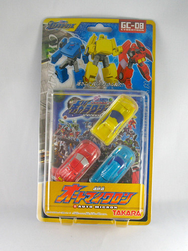 Micron Densetsu Speed Team Minicons