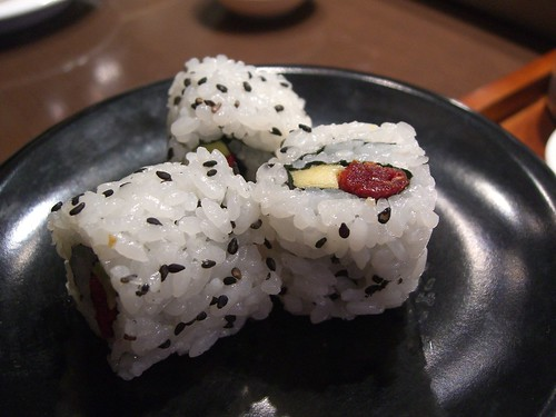 Sundried Tomato and Avocado Sushi Roll - by avlxyz, on Flickr