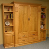 Ross Murphy Bed w/ Bookcase