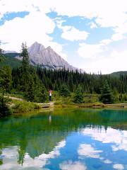 (B a h a r) Tags: lake alberta rockymountains johnsonscanyon