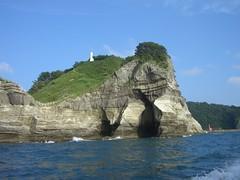 堂ヶ島 遊覧船からの眺め