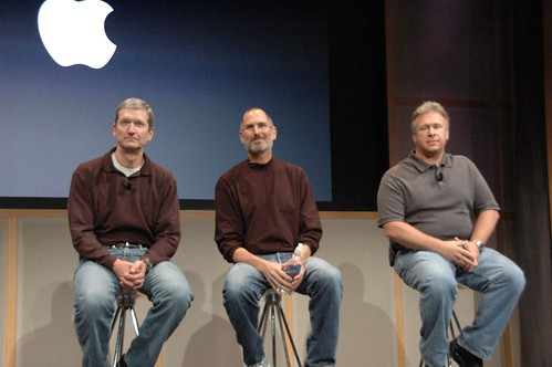 Tim Cook, Steve Jobs, Phil Schiller