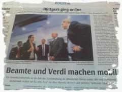 Die WAZ kann beides: Printkampagnen und WestEins