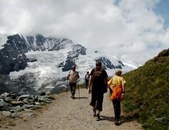 hikers (tinkatinka) Tags: alps austria glacier pasterze easternalps naturlehrweggamsgrube