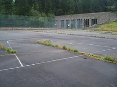 Slanty Basketball Lanes at Vogelsang (calaggie) Tags: germany vogelsang