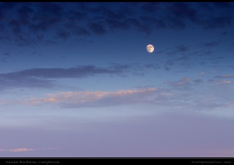 moon rise santabarbara photofool