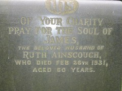 James Ainscough (1870-1931) & Ruth Ainscough (?-?)