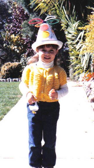 handmade hat, circa 1984